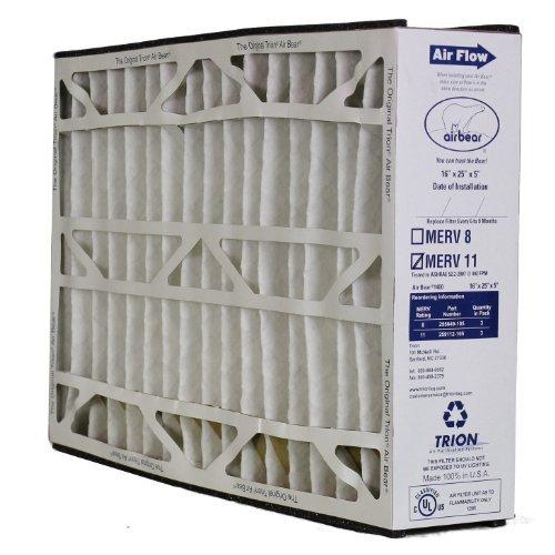 - 259112-105 16x25x5 Trion Air Bear Supreme 1400 MERV 11 Media Filter