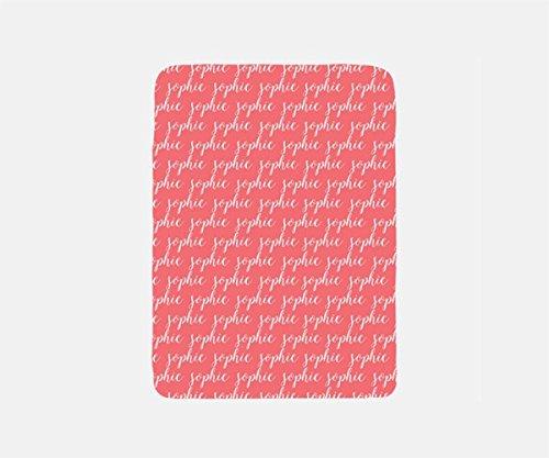 Fleece Blanket Personalized, Pink Blanket Throw, Beach Blanket, Pool Blanket, Bed Blanket