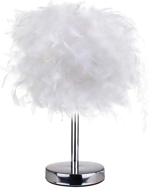 huohao Creative Modern Table Lamp Led Simple White Romantic