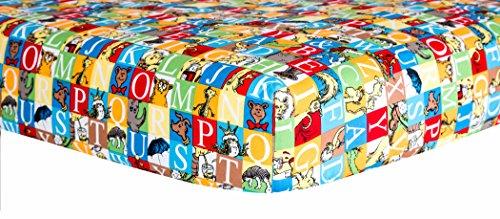 Trend Lab Dr. Seuss Alphabet Seuss Squares Crib Sheet -