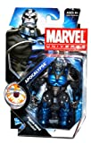 Hasbro Year 2010 Marvel Universe Series 3 SHIELD Single Pack 4-1/2 Inch Tall Action Figure #9 - APOCALYPSE with Display Stand