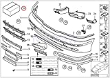 BMW Genuine Front Bumper Set Of Mounted Parts
