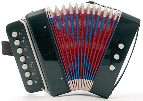 Mini Kids Accordion 7-Key 3 Bass Small Educational Childrens Instrument Band Toy
