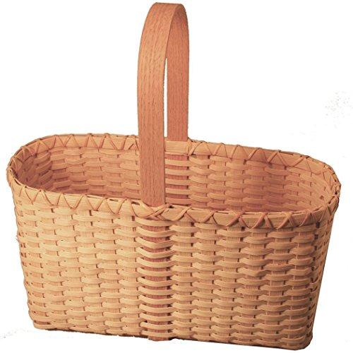 Tote Basket Weaving Kit by V.I. Reed & Cane, Inc.