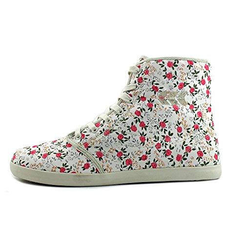 Movmt Marcos Salut Toile De Mode Chaussures De Sport Floral