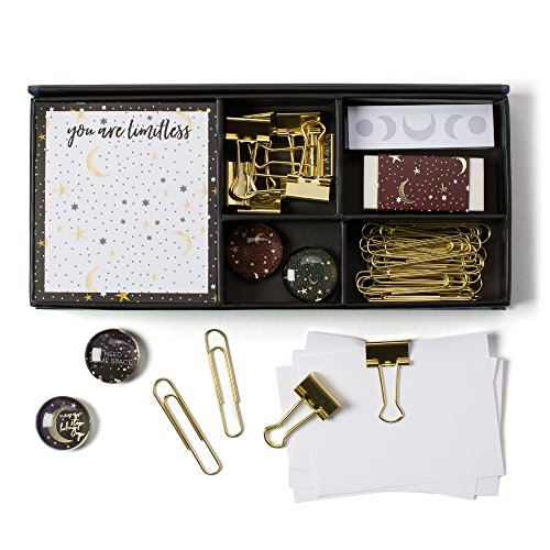 Celestial Dreams Metallic Stationery Set Box