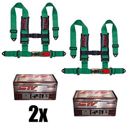 (STVMotorsports 4 Point Shoulder Harness Set - 2
