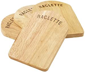 Kela 77937 - Tablas apoya-sartenes para raclette