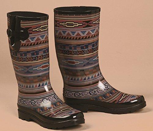 Blazin Roxx Dames Perry Tribal Ronde Neus Regenlaars Multi