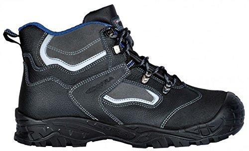 Cofra 22050-000.W42 Hudson BIS UK S3 Chaussures de sécurité SRC Taille 42 Noir