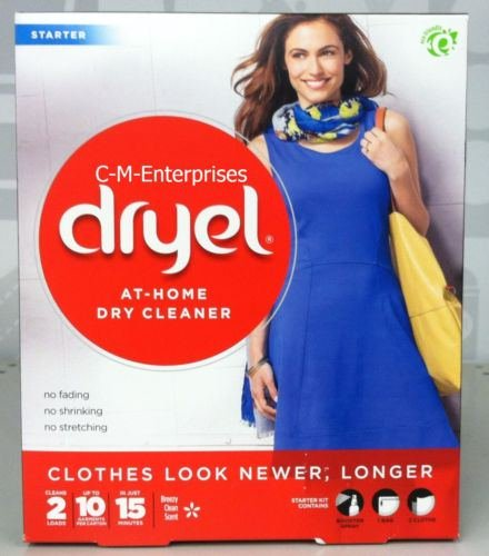 Dryel At Home Dry Cleaner Starter Kit Breezy Clean - Available Not Shipping Is Paypal