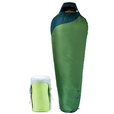 LJHA shuidai Saco de Dormir Momia/Splicable Impermeable/Adultos al Aire Libre/Ideal