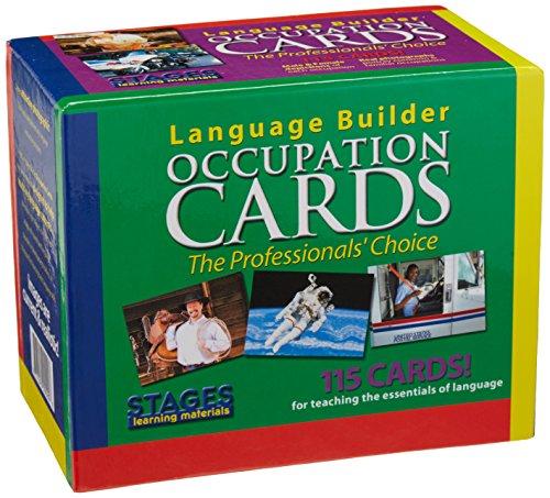 Language Builder: Occupation Cards (Picture Noun Cards)