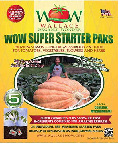 Wallace Organic Wonder, Starter Pack and Soil and Plant Booster (Starter Pack)