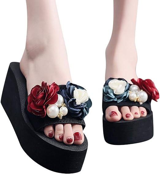 M.STRA Womens Ladies Bombardier-Logo Flip Flop for Womens Shoe