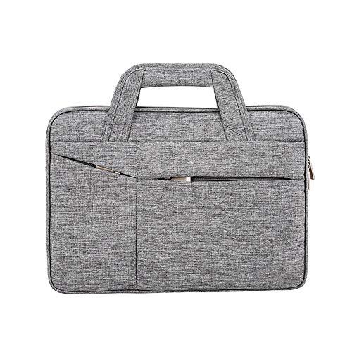 KTYXDE Laptop Bag 15.6-inch Laptop Briefcase Computer Bag Business Gentleman Clutch Bag Tablet Set with Notebook Suitable for Business/College / Ladies/Men - Black/Blue / Gray Briefcase