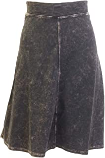 product image for Hard Tail Forever Flat Waist Knee Skirt Cotton - Style B-145