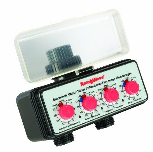 RAINWAVE RW-93105  Easy Dial Dual Timer