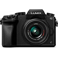 Panasonic LUMIX DMC-G7 16MP 4K Mirrorless Digital Camera with 14-44mm Lens (Black)