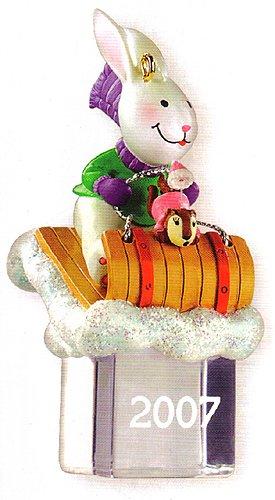 Carlton Heirloom Ice Pals Christmas Ornament Dated 2007 #CXOR-044R