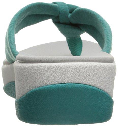 Flops Arla Fabric Flip Women's Clarks Turquoise Glison Heather IROppH
