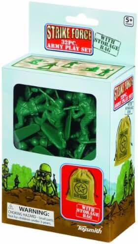 Toysmith 32-Piece Strike Force Playset