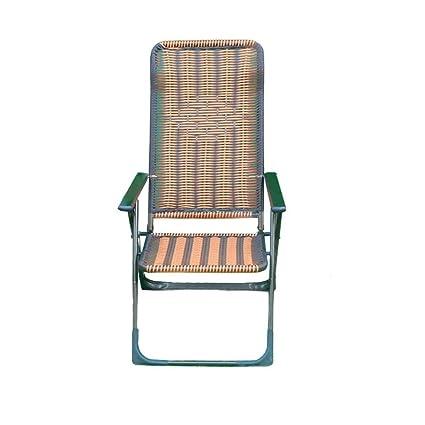 YY_C1 Tumbonas, sillas Plegables, sillas de Almuerzo ...