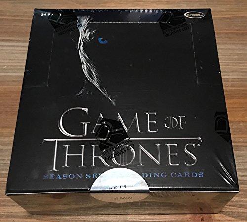 Game of Thrones Season 7 Trading Cards Box -
