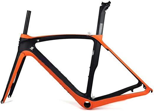 YAMEIJIA Cuadro de Bicicleta de Carretera de Carbono Completo ...