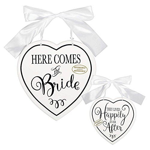 Here Comes The Bride Decorative Sign]()