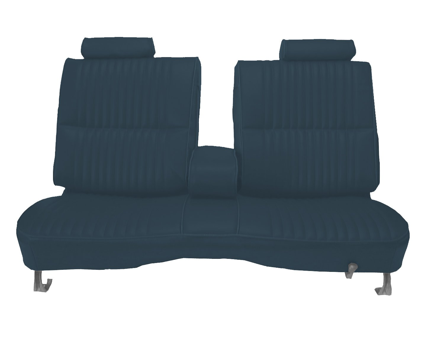 Acme U2002-2309 Front Medium Blue Vinyl Bench Seat Upholstery