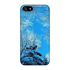 Iphone 6 plus 5.5 (tree Tops And Blue Sky) Personal iphone New Snap-on case cover covers yueya's case