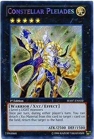 Yu-Gi-Oh! - Constellar Pleiades (HA07-EN022) - Hidden ...