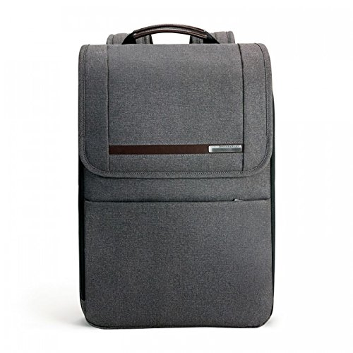Expandable Leather Computer Backpack - 2