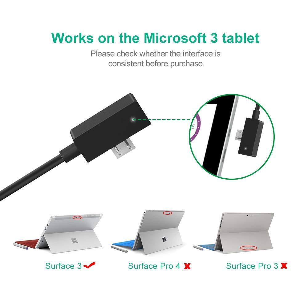 Amazon.com: IBERLS - Cargador de CA portátil para Microsoft ...