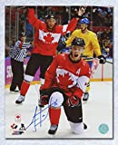 2014 iihf canada jersey - Jonathan Toews Team Canada Autographed 2014 Olympic Gold 8x10 Photo