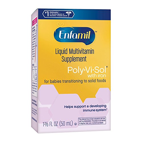 Enfamil Poly-vi-sol Supplement Drops, Multivitamin for Infants & Toddlers, 50mL