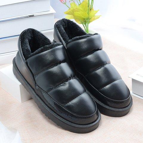 CWAIXXZZ pantofole morbide In inverno il cotone pantofole coppie femmina Pacchetto in camera con extra spesso il cotone scarpe scarpe caldo gli uomini e le donne su un ,35-36 (standard) ,PU in pelle r