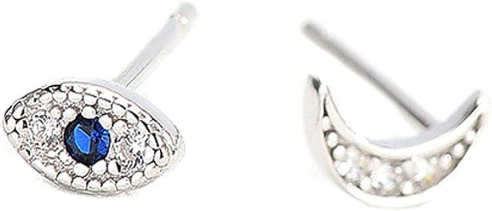 Pendiente Pendientes de plata clásicos 925 Joyas Oval en forma de piedras preciosas verdes Pendientes de circón para mujeres Regalos de fiesta de bodas Adornos