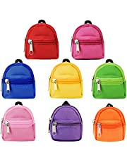 8PCS Doll Backpack for Doll Bags,Aniwon Cute Zipper Backpack Mini Doll Bag Doll Accessories for Doll Backpack Doll Accessories