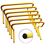 12'' Hurdles Training Speed Football Agility Sport Soccer (6-pack)