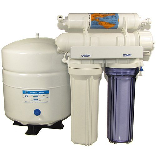 Reverse Osmosis Filtration (Filter) System with Luxury Faucet Selection 50 gallon per day by KX Industries USA (Image #1)