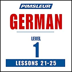 German Level 1 Lessons 21-25