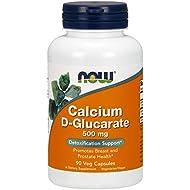 NOW Calcium D-Glucarate 500 mg,90 Veg Capsules