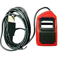 Morpho Safran MSO 1300 E3 USB Fingerprint Scanner (Red and Black)