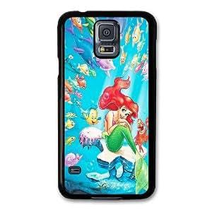 Duro Snap-On protectora funda por Samsung Galaxy S5 Negro [DHGDHJGJK3788] CUSTOM SIRENITA tema Samsung Galaxy S5 funda