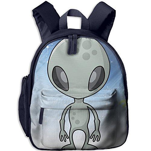 Mars Attacks Martian Girl Costume - Alien With Ray Gun Children Polyester Oxford Backpack,Randoseru For Girls