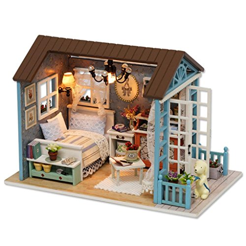 Christmas Decorations,Putars New Style DIY Wooden House Furniture Handcraft Miniature Box Creative Gift Toy 3D Puzzle for Christmas, Party, House and Garden Decorations by Putars
