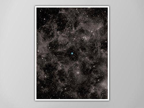 - Pale Blue Dot Poster, Pale Blue Dot Print, Pale Blue Dot Galaxy Poster, Wall Art, The Cosmos Home Decor, The Pale Blue Dot Art Print, Earth