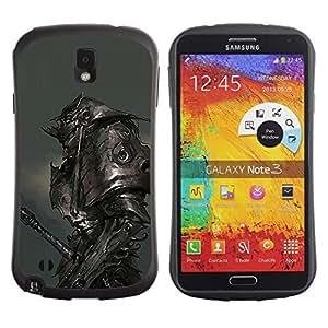 "Hypernova Slim Fit Dual Barniz Protector Caso Case Funda Para Samsung Note 3 [Metal Armor Monster Hero Juego""]"